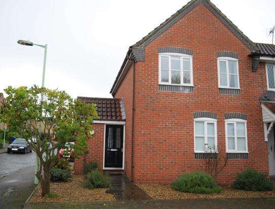 3 Bedrooms End Of Terrace House for sale in Turner Close, Haverhill CB9 7FZ