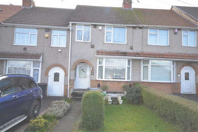 3 Bedrooms Terraced House for sale in Vicarage Lane, Coventry