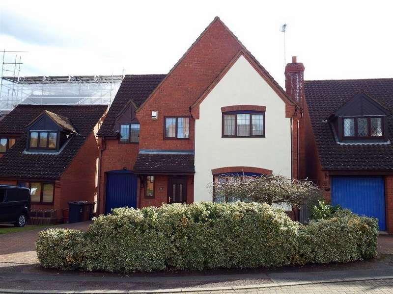 4 Bedrooms Detached House for sale in Barham Road, Stevenage, Hertfordshire, SG2