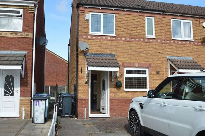 2 Bedrooms Terraced House for rent in Sarah Close, Bilston