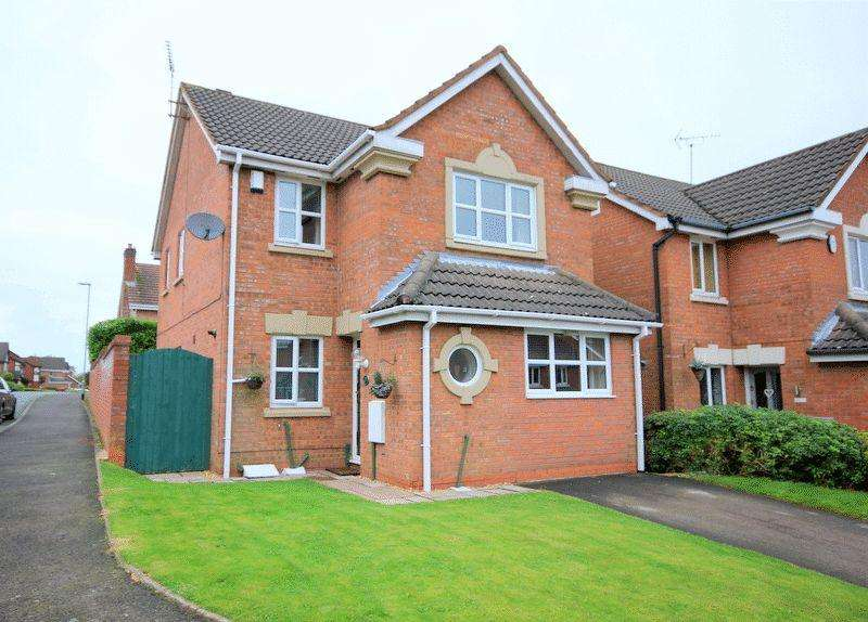3 Bedrooms Detached House for sale in Peregrine Grove, Stoke-On-Trent