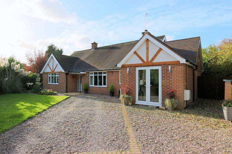 4 Bedrooms Detached Bungalow for sale in London Road, Nantwich
