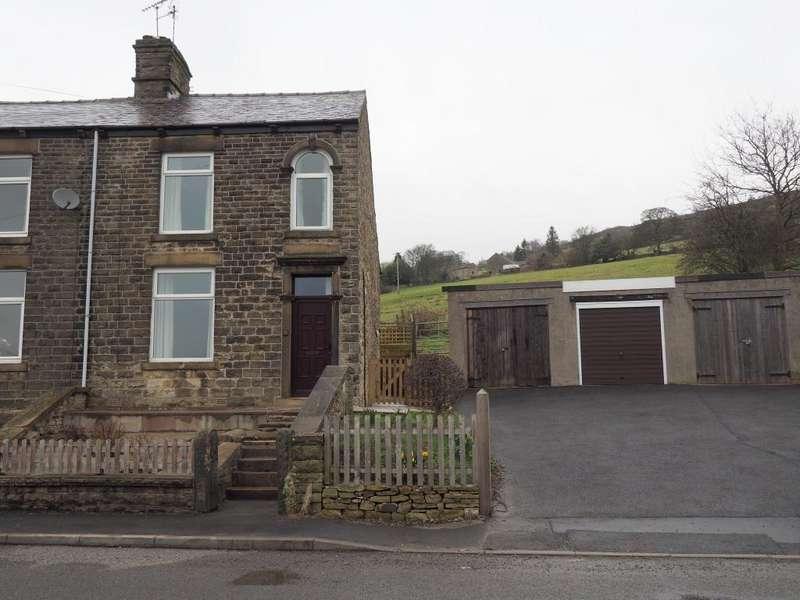 3 Bedrooms Semi Detached House for rent in Hague Bar Road, New Mills, High Peak, Derbyshire, SK22 3EA