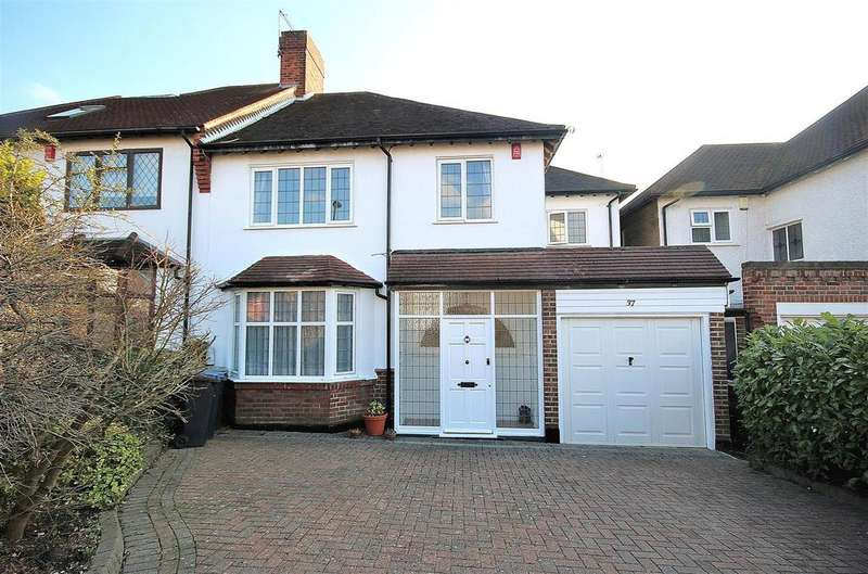 3 Bedrooms Semi Detached House for sale in Forestdale, Southgate, London N14