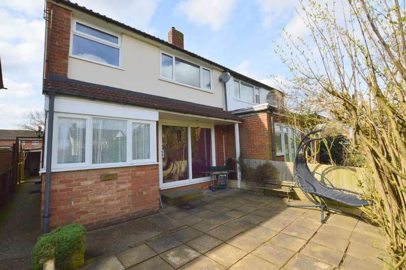 3 Bedrooms Semi Detached House for sale in Eaton Place, Vauxhall Park, Luton, LU2 9LB