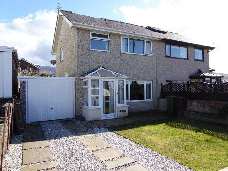 3 Bedrooms Semi Detached House for sale in Bethesda
