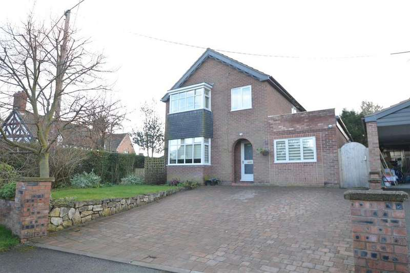 3 Bedrooms Detached House for sale in The Uplands, Upper Cound, Cound SY5 6AT