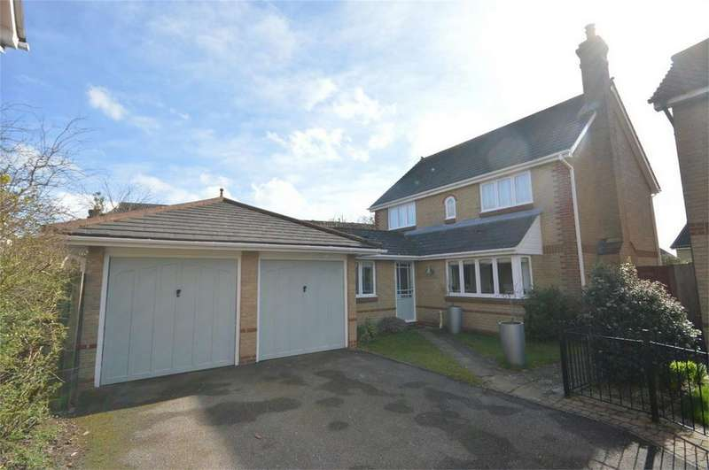 4 Bedrooms Detached House for sale in 18 Millers Close, St Michaels Mead, Bishop's Stortford