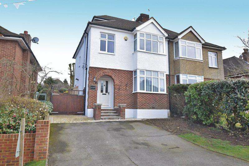 4 Bedrooms Semi Detached House for sale in Woodland Way, Maidstone
