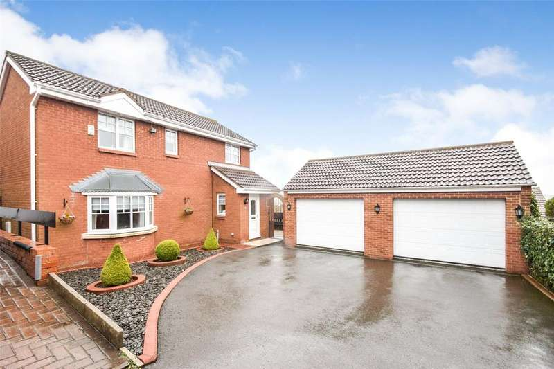 4 Bedrooms Detached House for sale in Windslonnen, Murton, Co Durham, SR7