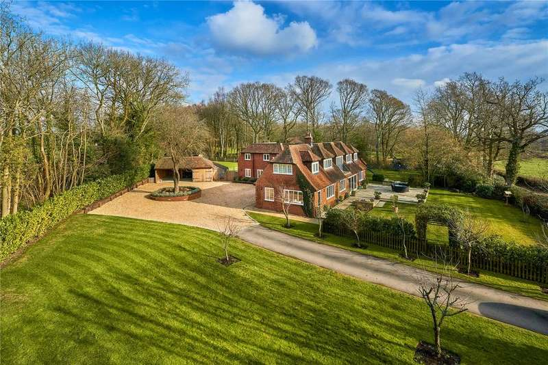 5 Bedrooms Unique Property for sale in Dippenhall, Farnham, Surrey, GU10