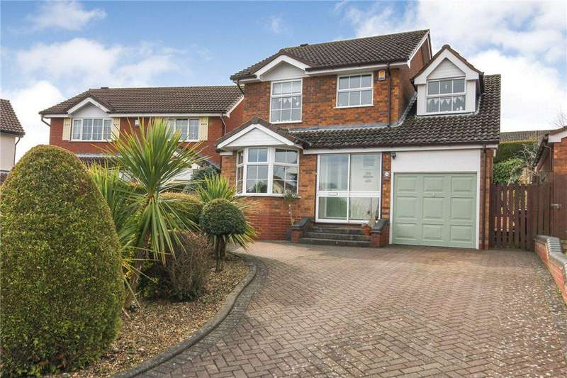 4 Bedrooms Detached House for sale in Doran Close, Halesowen, West Midlands, B63