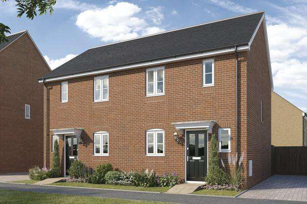 2 Bedrooms Semi Detached House for sale in St Walstan's, Costessey, Norwich