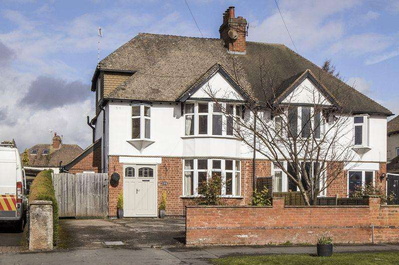 4 Bedrooms Semi Detached House for sale in Evesham Road, Stratford-Upon-Avon