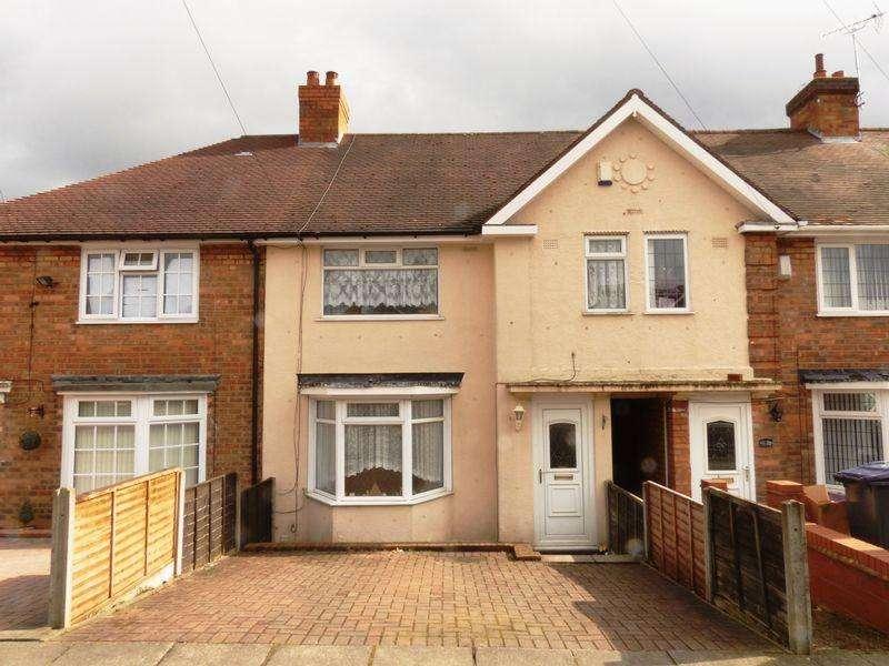 3 Bedrooms Terraced House for sale in Cranbourne Road, Birmingham