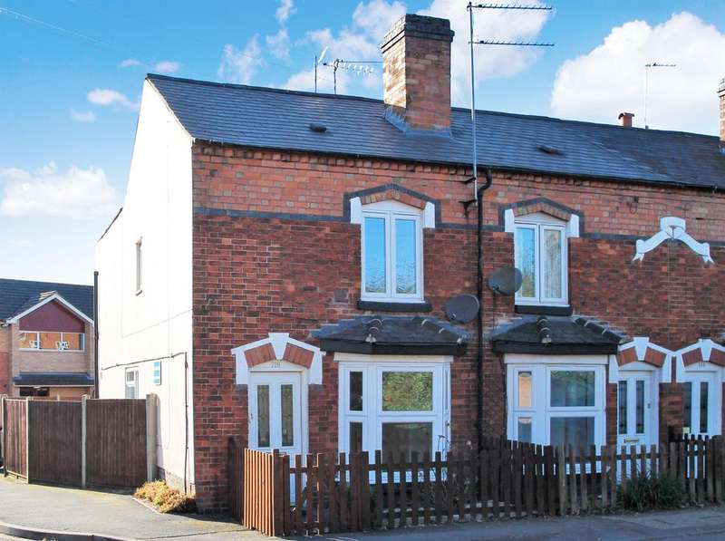 2 Bedrooms Terraced House for rent in Evesham Road, Redditch, B97 5ES