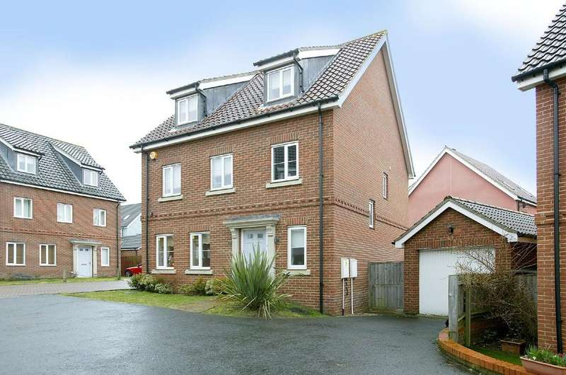 5 Bedrooms Detached House for sale in Fern Drive, Cringleford