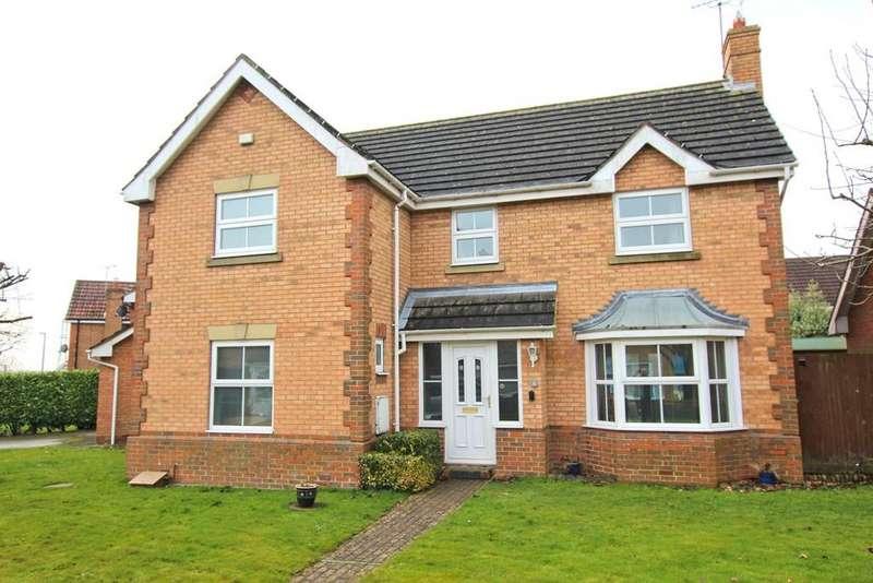 4 Bedrooms Detached House for sale in Oriel Close, Walkington, Beverley, HU17