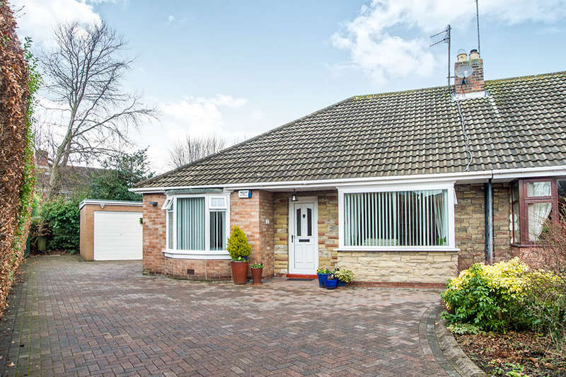 4 Bedrooms Semi Detached Bungalow for sale in Whitewell Close, Ryton, NE40