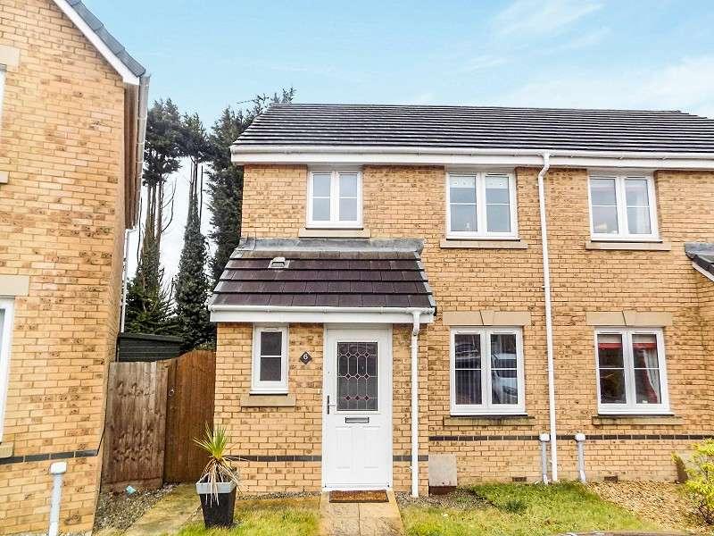 3 Bedrooms Semi Detached House for sale in Clos Joslin , Coity, Bridgend. CF35 6BX
