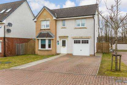 4 Bedrooms Detached House for sale in Barberry Crescent, Cumbernauld