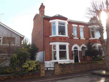 4 Bedrooms Semi Detached House for sale in Fleeman Grove, West Bridgford, Nottingham