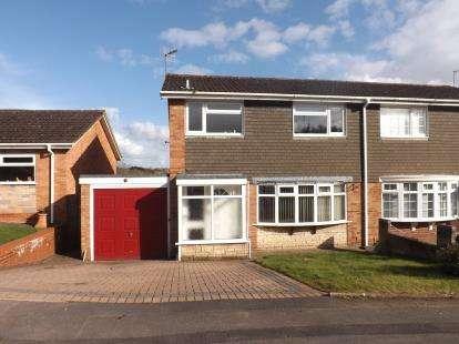 3 Bedrooms Semi Detached House for sale in Westfields, Catshill, Bromsgrove, Worcs