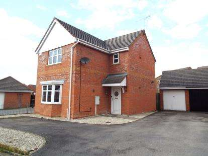 3 Bedrooms Detached House for sale in Northbourne Drive, Nuneaton, Warwickshire