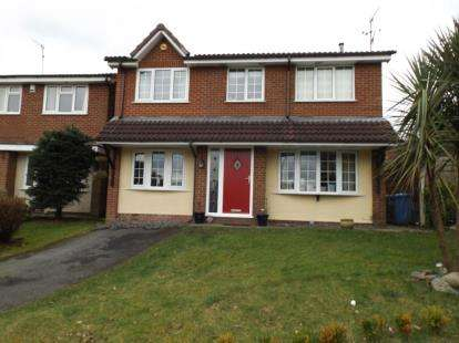 4 Bedrooms Detached House for sale in Harrison Close, Rochdale, Greater Manchester, OL12
