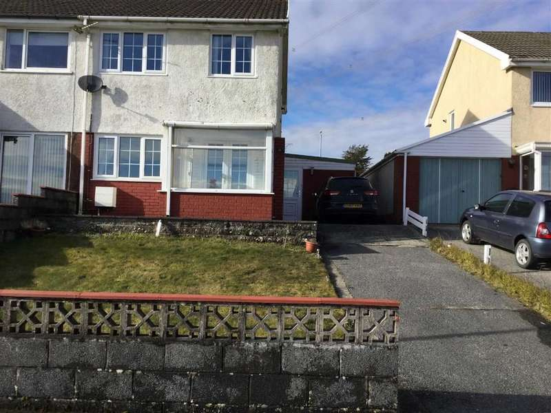 3 Bedrooms Semi Detached House for sale in The Ashes, Meinciau,Kidwelly