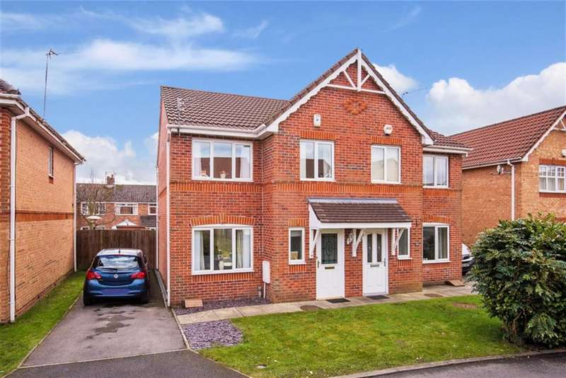 3 Bedrooms Semi Detached House for sale in Threadmill Lane, Swinton, Manchester, M27 9LJ