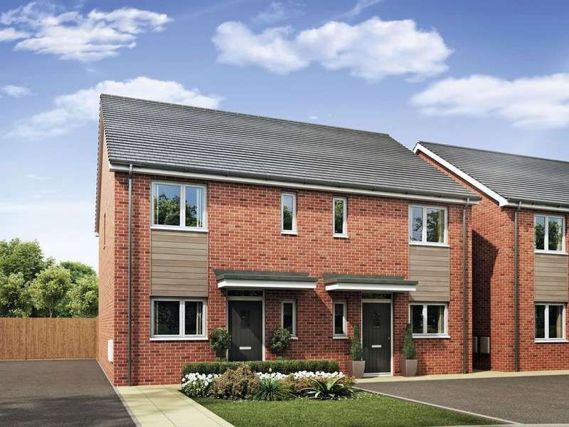 3 Bedrooms Semi Detached House for sale in The Mirin, Burton Road, Castle Gresley