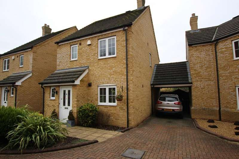 3 Bedrooms Detached House for sale in Lyspitt Common, Meppershall, Shefford, SG17