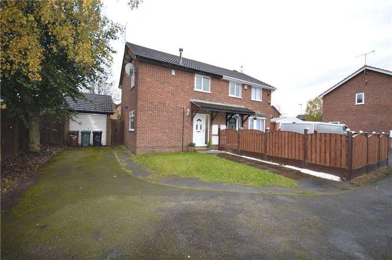 3 Bedrooms Semi Detached House for sale in Lea Park Croft, Leeds, West Yorkshire