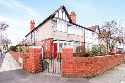 4 Bedrooms Semi Detached House for sale in Manor Road, Crosby, Liverpool, Merseyside, L23