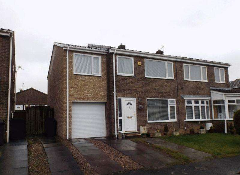 4 Bedrooms Semi Detached House for sale in Stanton Drive, Morpeth