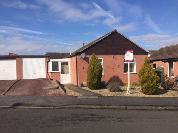 2 Bedrooms Bungalow for sale in Cranmere Road, Melton Mowbray, LE13