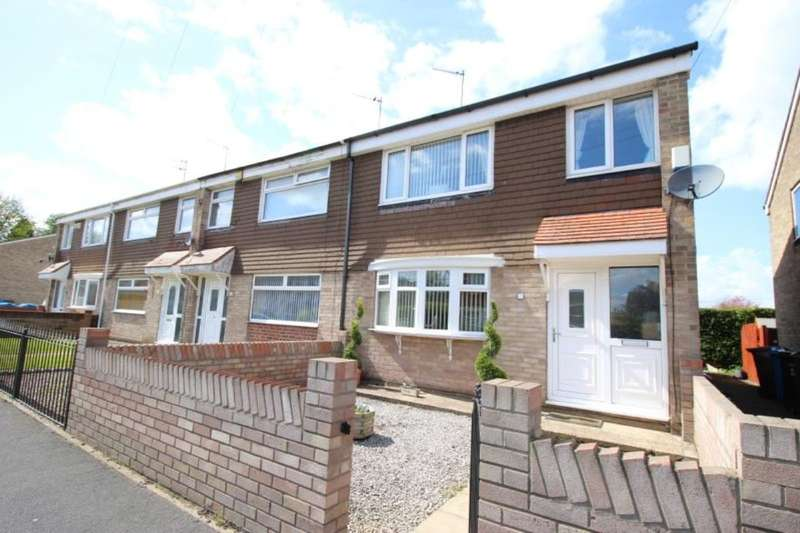 3 Bedrooms Terraced House for rent in Astral Gardens, Sutton-On-Hull, Hull, HU7