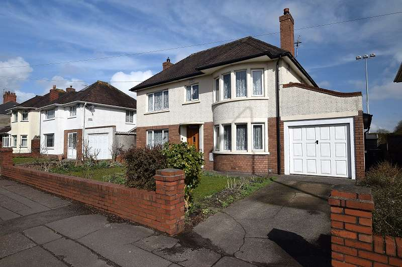 4 Bedrooms Detached House for sale in Ash Grove, Whitchurch, Cardiff. CF14 1BE