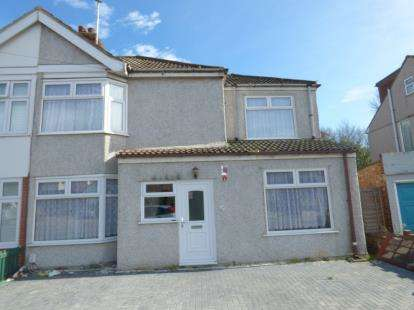 4 Bedrooms Semi Detached House for sale in Rainham, Essex, .