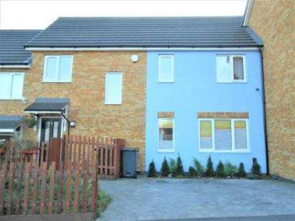3 Bedrooms Terraced House for sale in Hanswick Close, Luton, Bedfordshire