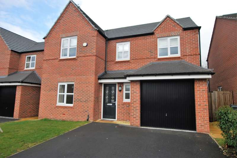 4 Bedrooms Detached House for sale in Willow Hey, Saughall, Chester