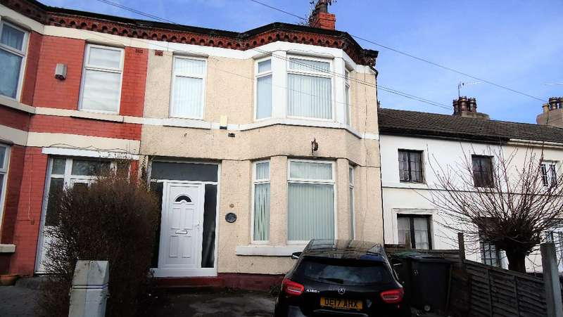 3 Bedrooms Terraced House for sale in Ashbrook Terrace, Bebington, Wirral