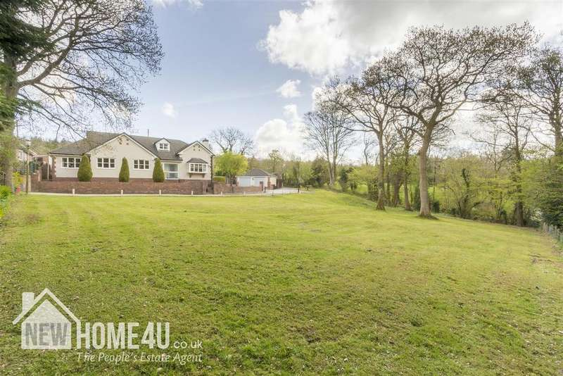 4 Bedrooms Detached Bungalow for sale in Cefn Bychan Woods, Pantymwyn, Mold