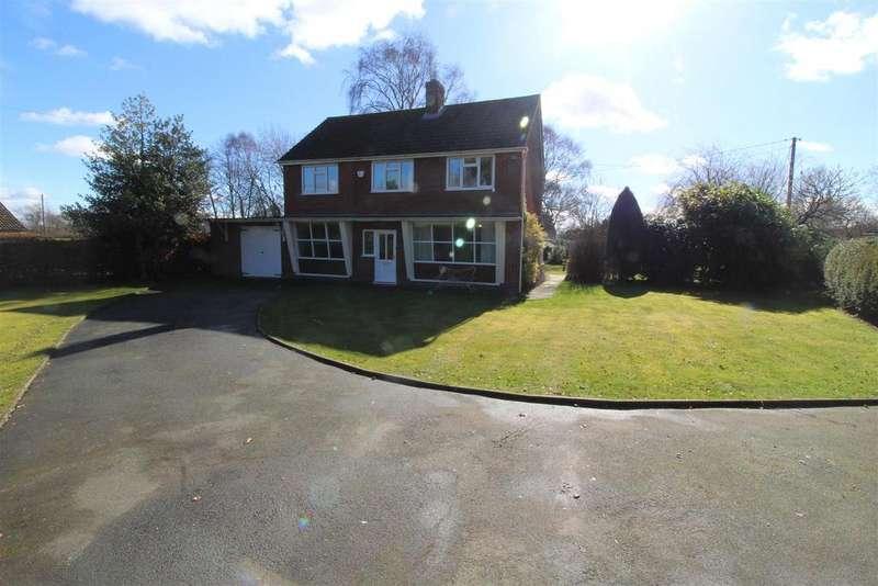 4 Bedrooms Detached House for sale in Bings Heath, Astley, Shrewsbury