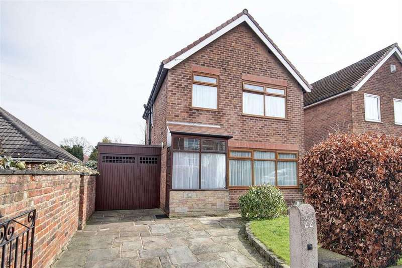 4 Bedrooms Detached House for sale in Burlington Road, Altrincham, Cheshire