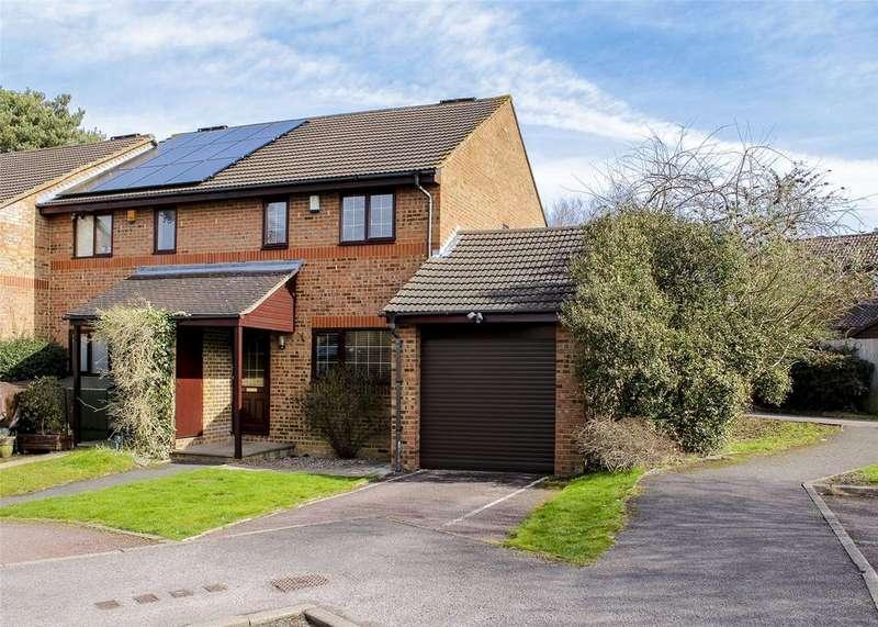 3 Bedrooms End Of Terrace House for sale in Higher Alham, Forest Park, Bracknell, Berkshire, RG12