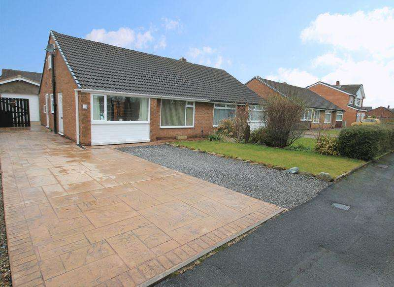 2 Bedrooms Semi Detached Bungalow for rent in Amberley Way, Eaglescliffe, TS16 0NG
