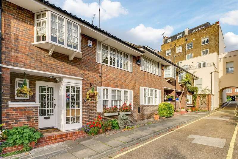 4 Bedrooms House for sale in Randolph Mews, Little Venice, London