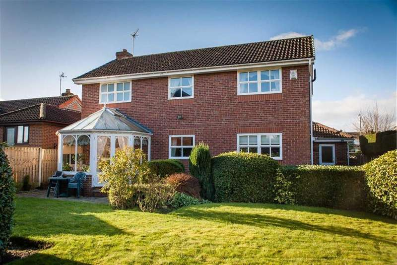 4 Bedrooms Detached House for sale in Berwick Close, Walton, Chesterfield, S40